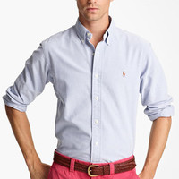 Polo Ralph Lauren Custom Fit Oxford Shirt | Nordstrom