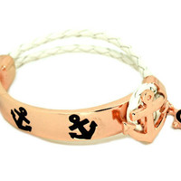 Rose nautical Bracelet