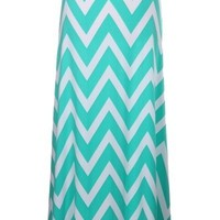 Charming Chevron maxi skirt