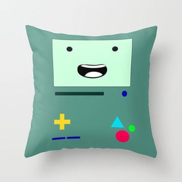 BMO Throw Pillow by daniellebourland