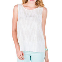 Spokane Sequin Tank