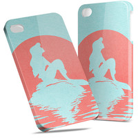 Ariel Little Mermaid Disney - Hard Cover Case iPhone 5 4 4S 3 3GS HTC Samsung Galaxy Motorola Droid Blackberry LG Sony Xperia & more