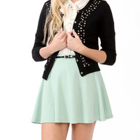 Bejeweled 3/4 Sleeve Cardigan