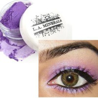 L.A. Minerals Purple Pink Iridescent Eye Shadow - Sexy Biotch:Amazon:Beauty