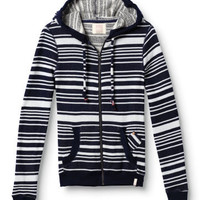 Original Currents Striped Hoodie - QUIKSILVER