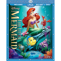 Disney The Little Mermaid 2-Disc Combo Pack with FREE Lithograph Set Offer - Pre-Order | Disney Store