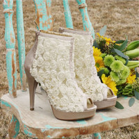 Honey & Roses Heels, Sweet Country Inspired Shoes