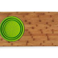 SINK DRAINER CUTTING BOARD | Kitchen Accessories, Bamboo, Strainer | UncommonGoods