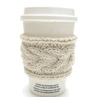 Knitted Coffee Sleeves