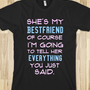 Tell her - Newww - Skreened T-shirts, Organic Shirts, Hoodies, Kids Tees, Baby One-Pieces and Tote Bags