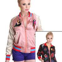 DJPremium.com - Women - Shop by Brand - Joyrich - Reversible Mexico Vacation Embroidered Stadium Jacket