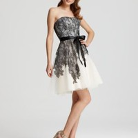 Max & Cleo Dress - Cynthia Lace and Tulle - Contemporary - Bloomingdale's