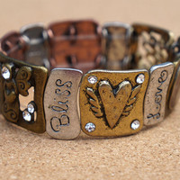 Bliss and Joy Stretch Bracelet