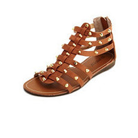 Studded Gladiator Wedge Sandal: Charlotte Russe