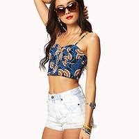Dutch Wax Bustier | FOREVER 21 - 2027885117
