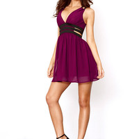A-Line Cutout Dress