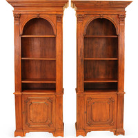 One Kings Lane - Pieces with a Past - Italian Bookcases, Pair