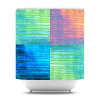 "Nina May ""Crayon Batik"" Shower Curtain 