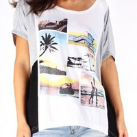 T-shirt - Cali - T-shirts & Tanks - Women - Modekungen - Fashion Online | Clothing, Shoes & Accessories