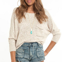 Dazzle Me Knit Sweater $58
