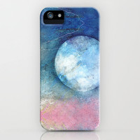 PASTEL MOON iPhone &amp; iPod Case by  VIAINA