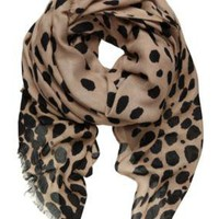 Sussan - Sale - Accessories - Blotchy leopard scarf