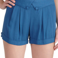 Class in the Courtyard Shorts | Mod Retro Vintage Shorts | ModCloth.com
