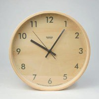 Canoe: Plywood Wall Clock