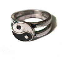 Yin Yang Friendship Ring