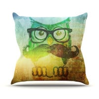 iRuz33 &quot;Howly&quot; Throw Pillow | KESS InHouse