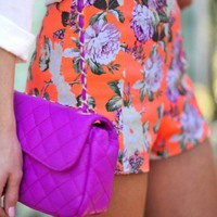 The Tango of Two Colors: Purple & Tangerine
