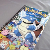 Pokemon Recycled Notebook