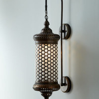 &quot;Moroccan&quot; Metal Sconce - Horchow