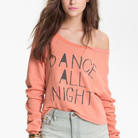 Project Social T &#x27;Dance All Night&#x27; Graphic Sweatshirt (Juniors) | Nordstrom