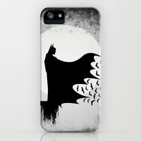 Knight Rising from the Dark iPhone & iPod Case by UvinArt