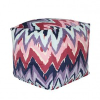Paintica Chevron Pouf