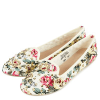 VECTRA5 Floral Stud Slippers - View All - Shoes - Topshop