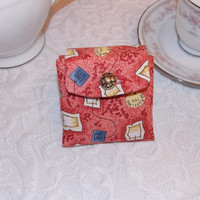 Tea Bag Holder Pouch  Sweetener Wallet