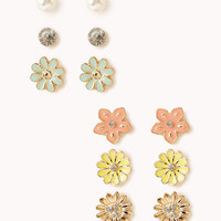 Fairytale Flowers Stud Set | FOREVER 21 - 1000034348