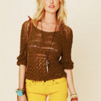 Free People Marigold Pullover at Free People Clothing Boutique