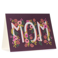 Rosy Blooms Mother's Day Card