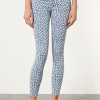 MOTO Daisy Leigh Skinny Jean - Railroad - Collections - Topshop