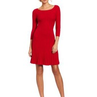 Amazon.com: BCBGMAXAZRIA Women's Cable Dress With Ribbing: Clothing