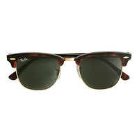 Ray-Ban® Clubmaster® sunglasses - Ray-Ban - Men's j.crew in good company - J.Crew