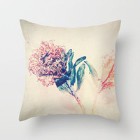 Flower Power Throw Pillow by pascal+
