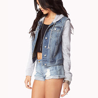 Life In Progress™ Denim Jacket | FOREVER 21 - 2086807870