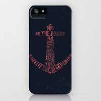 You be the anchor that keeps my feet on the ground... iPhone & iPod Case | Print Shop