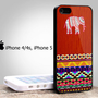 Iphone 4/4s case, iphone 5 cover with Wood Aztec Elephant Design From: bestiphone5caseshop @ artfire