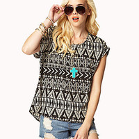 Tribal-Inspired Woven Top | FOREVER 21 - 2022286063