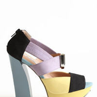 Multi-Color Deedee Heels